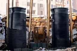 Корпуса канализационной насосной станции (КНС)