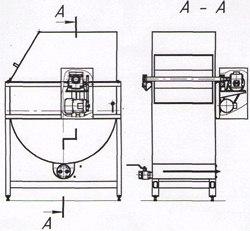 Баркас красильный - АМ-216 (216-01)