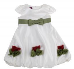 Платье Rodeng L13-084 зел. пояс