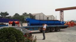 Оборудование для мойки щебня, модель FG-120