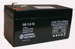 Аккумулятор GS 1.2-12 Производитель: Dahua storage battery