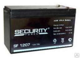 Аккумулятор SF 1207 Производитель: Zhongshan Shimastu Electronic Technology Co., Ltd