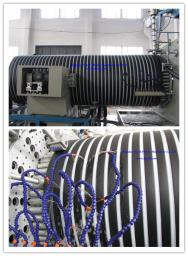 Экструзионная линия для производства спиральновитых труб из полиэтилена