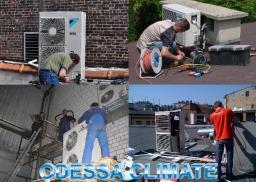 Установка кондиционеров в Одессе, Монтаж вентиляции в Одессе