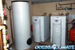 Тепловые насосы Одесса, монтаж тепловых насосов в Одессе