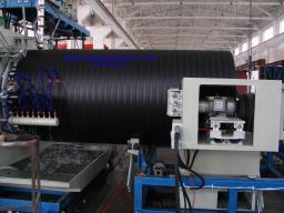 Линия для производства водосточных труб из полиэтилена(ПНД)