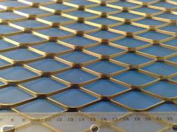 Цельнометаллическая просечно-вытяжная сетка ЦПВС 1250*62,5*1,0*2,5