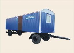 Вагон дом мобильный БАШКИРИЯ - 9ВБ (Жилой вагон для размещения вахтовых бригад на 8 человек)