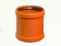 Муфта надвижная ПВХ ф160 для наружной канализации
