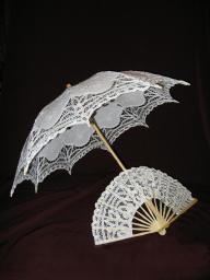 Зонтики и веера
