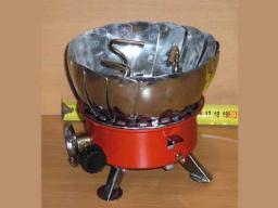 Ветрозащитная газовая плита