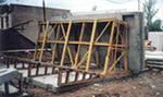 Оборудование для складирования железобетонных плит