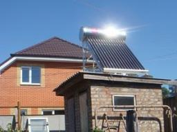 Солнечный коллектор для дачи