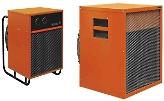 Тепловентиляторы электрические промышленные