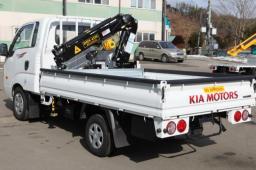 грузовик Kia Bongo III с манипулятором