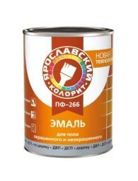 Эмаль ПФ-266 половая