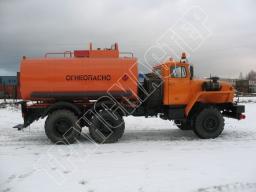 Автотопливозаправщики АТЗ-9 Урал 5557-1112-40