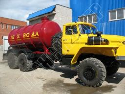 Автоцистерна АЦ-10 (техвода) Урал 4320-1912-40