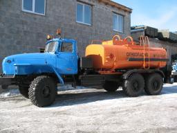 Автоцистерны АЦ-10 Урал 4320-1912-40