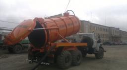 Автоцистерны вакуумные АКНС-10 Урал 4320
