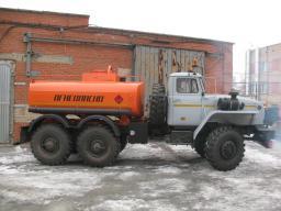 Автотопливозаправщики АТЗ-6,5 Урал 4320