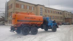 Автотопливозаправщики АТЗ-12 Урал 4320