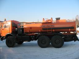 Автотопливозаправщики АТЗ-10 КамАЗ 43118