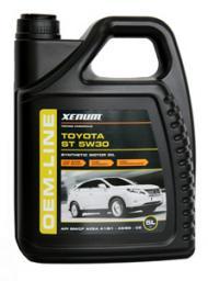 XENUM TOYOTA ST 5w30 - Полностью синтетическое моторное масло с добавлением эстеров, разработанное специально для двигателей группы Toyota/Lexus и других японских автопроизводителей купить оптом в розницу продажа представитель цена тойота ксенум
