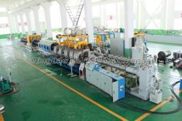 SBG400 Линия для производства двухстенных гофрированных труб ПНД и ПП