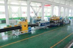 SBG315 Линия для производства двухстенных гофрированных труб ПНД и ПП