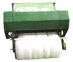 Для формирования одеяльного пласта ( шерсть)