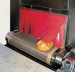 Стеклоткань с покрытием из силиконовой резины (термошторки)