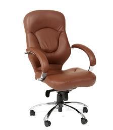 Кресло руководителя CHAIRMAN 430 (коричневое)