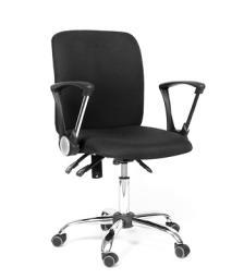 Кресло оператора CHAIRMAN 9801 хром (черное)