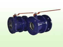 Кран шаровый стальной фланцевый 11с67п Ду50-Ду200 PN=1.6 МПа