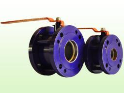 Кран шаровый стальной фланцевый 11с42п Ду50-Ду150 PN=1.6 МПа