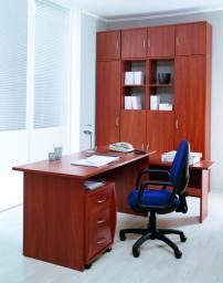 Мебель для персонала СИТИ (яблоня локарно)