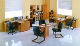 Мебель для персонала СИТИ (вишня оксфорд)
