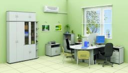 Мебель для персонала СИТИ (серый)