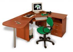 Мебель для персонала ДИНАМИКА - стол эргономичный