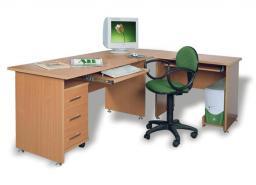 Мебель для персонала ДИНАМИКА - стол рабочий прямоугольный