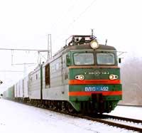Москва-Новосибирск железнодорожные грузоперевозки