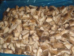 Шиитаки резаные замороженные