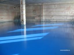 Эпоксидные покрытия толщиной 1-3мм
