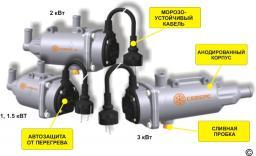 Электрические подогреватели двигателя СЕВЕРС-М (Россия)
