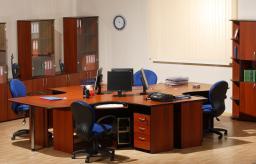 Мебель для персонала РУБИН 41 (итальянский орех)