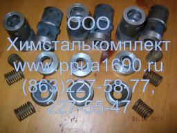 Клапан в сборе насоса 2,3ПТ25, плунжер 2,3ПТ25, комплект РТИ насоса 2,3ПТ25Д2, плунжер насоса, запасные части ППУА 1600-100, АДПМ 12-150