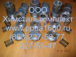 Клапан напорный в сборе насоса 2,3ПТ25, плунжер 2,3ПТ25, комплект РТИ насоса 2,3ПТ25Д2, плунжер насоса, запасные части ППУА 1600-100, АДПМ 12-150