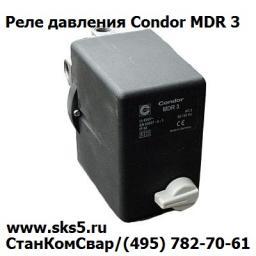 Прессостат реле давления Condor MDR3 EN 60947-4-1 (IP 54 AC3 50/60Hz)