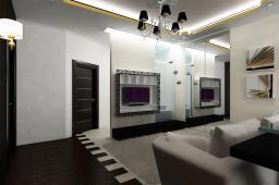 Дизайн гостинной 19-20 м.кв с одним окном фото